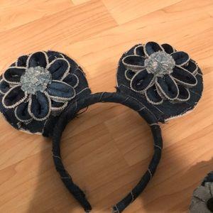 Other - Custom Denim Mickey Ears